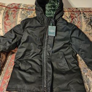 GH BASS modern hooded city parka jacket